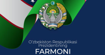 O'zbekiston Respublikasi Prezidentining Farmoni